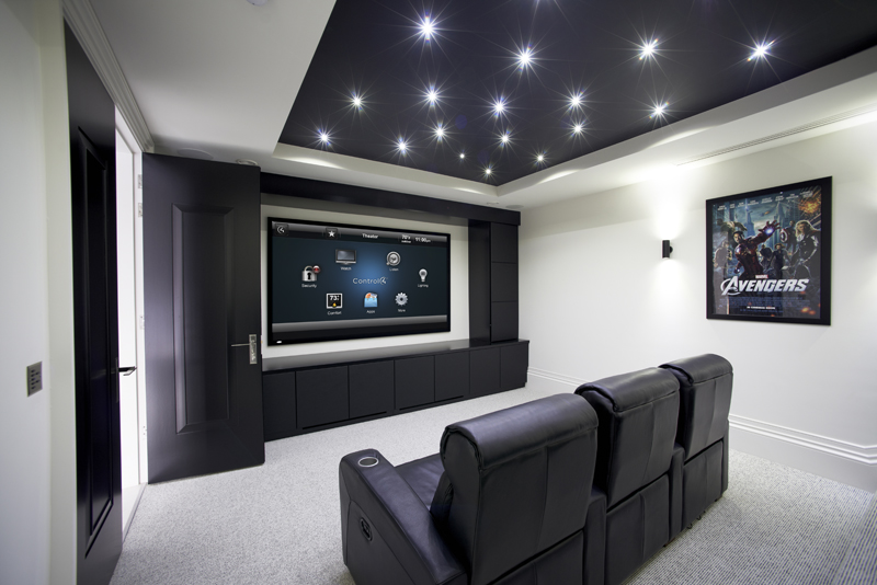 Home Theater & Media Rooms