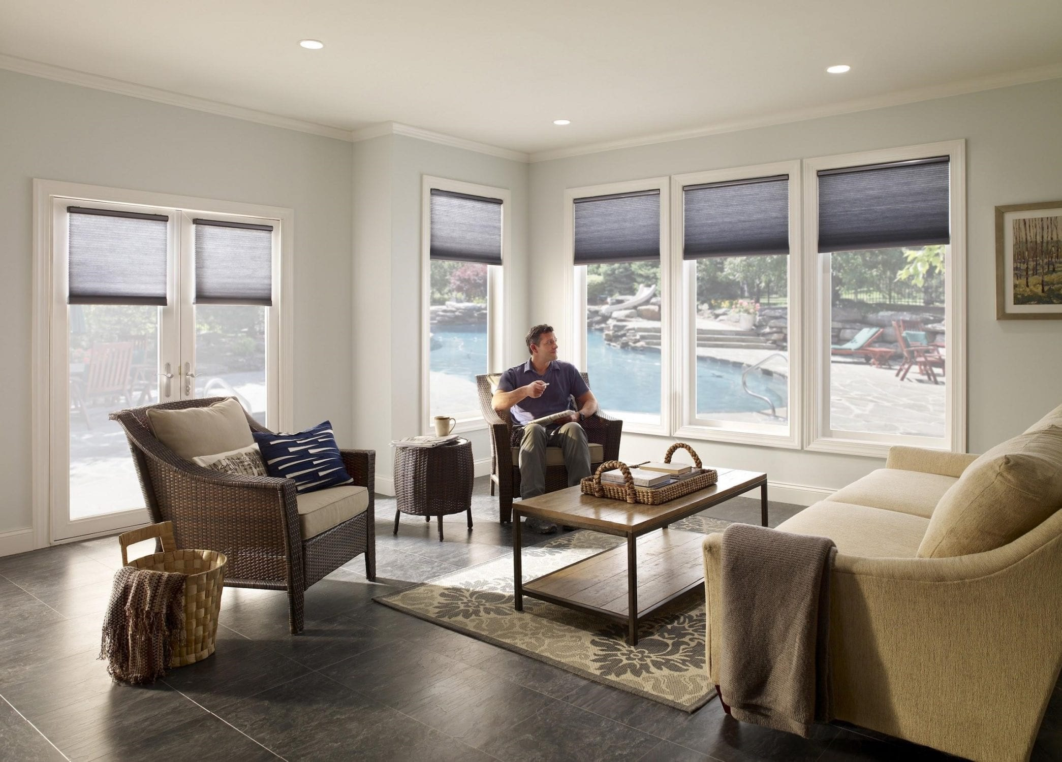 Motorized Window Treatments Bring Style & Convenience