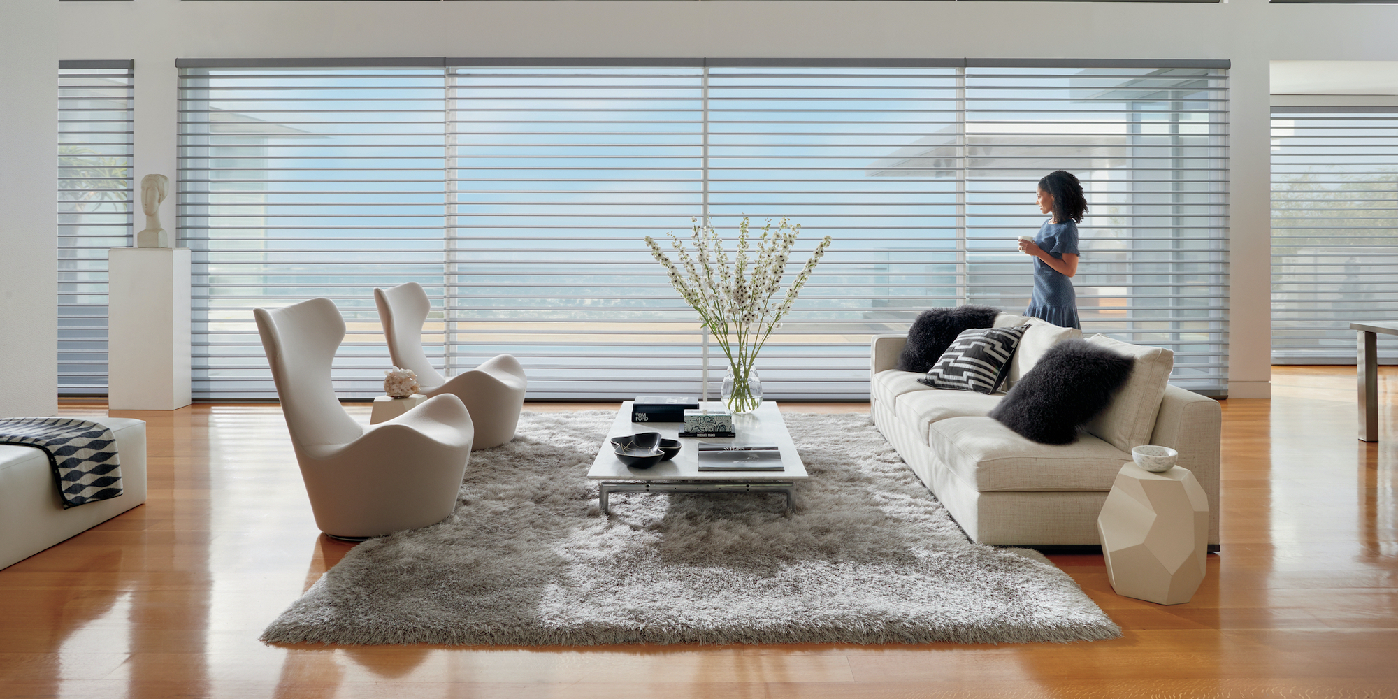 Elevate Your Interior Décor with Motorized Window Treatments